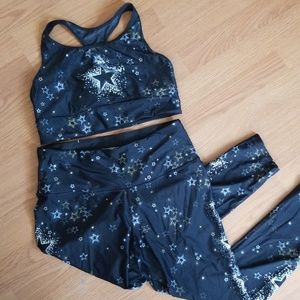 Victorias secret sports bra and matching leggings